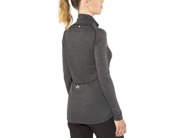 Devold Running - Camiseta de manga larga Mujer - gris